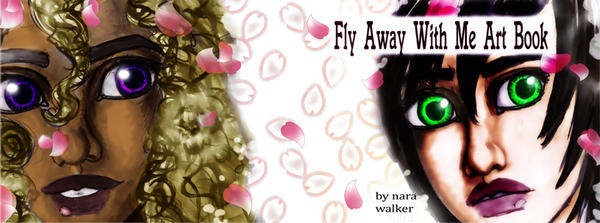 Fly Away with Me Art Book Cover by prettyism