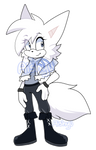 Andie the Artic Fox