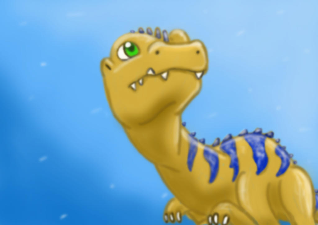 Random Dino by MipeLaz