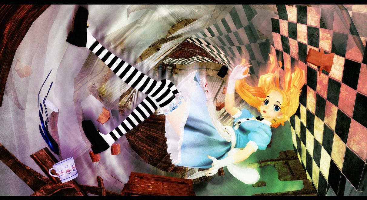 [MOTME - September 2014] Wonderland - Alice Liddel by ginconomp