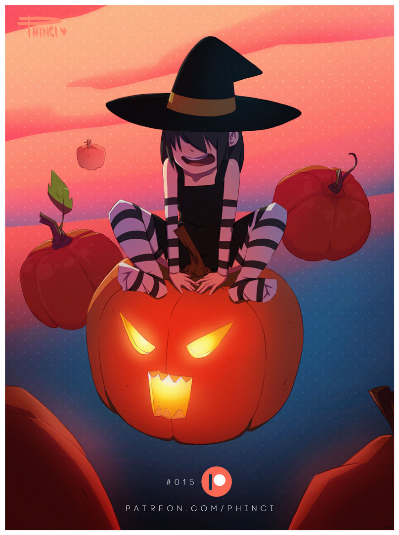 Lucy Loud Halloween Witch by Phinci