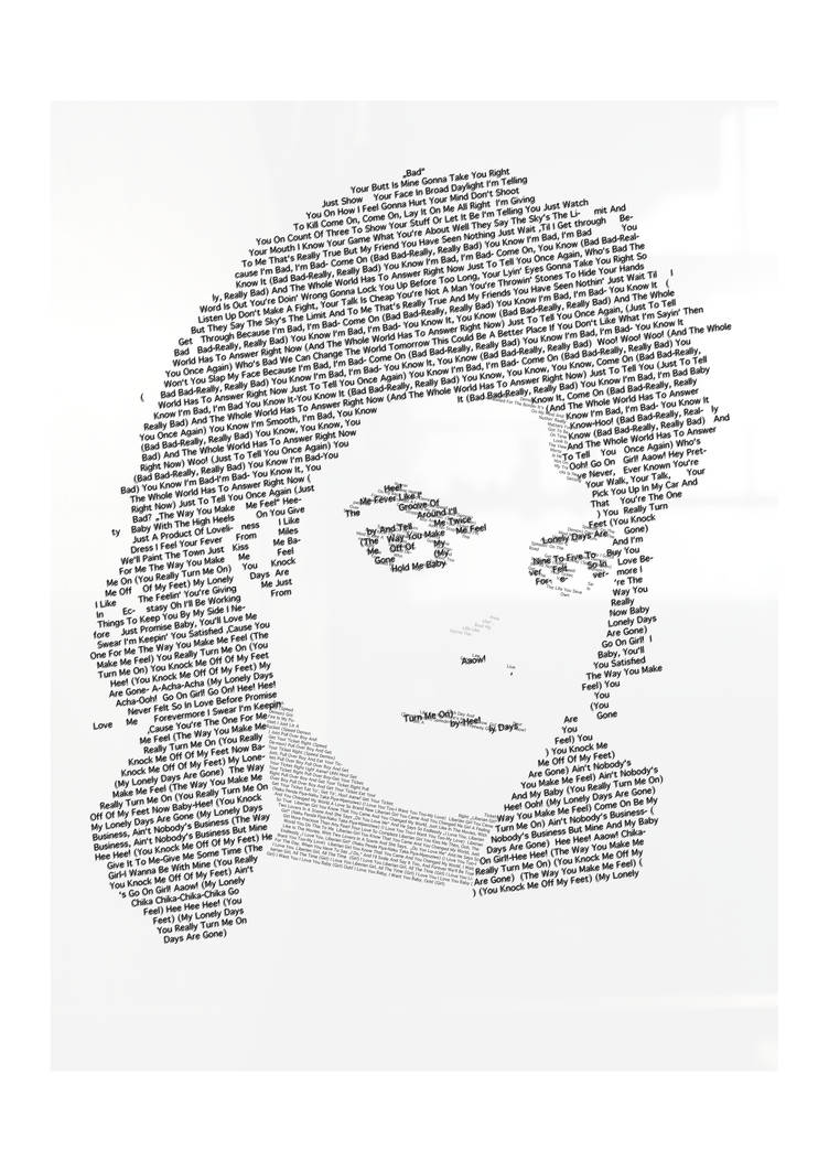 Michael Jackson Lyrics by patjee on DeviantArt