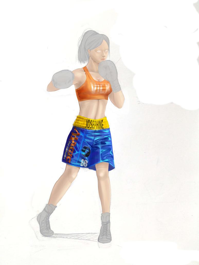 Upcoming 'Vicky' Josephine Williams by dudgus2429