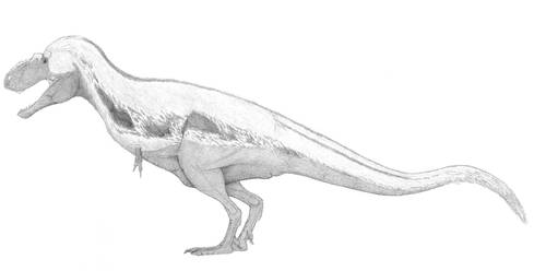 A Conservative Lythronax by pilsator