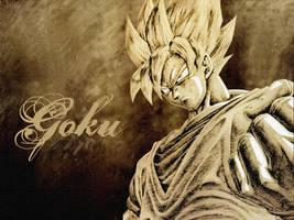 Goku by Impintower
