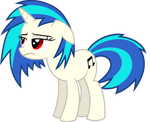 Vinyl Scratch - Having a bad day