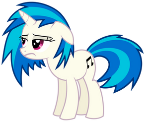 Vinyl Scratch - Having a bad day (updated)