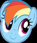 Rainbow Dash - Enjoying the sunny weather?