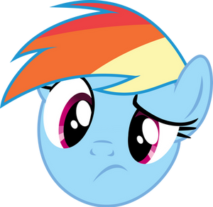 Rainbow Dash - Huh?
