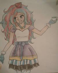 Madeline Hatter Fanart by Moonfirewolf1