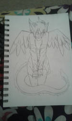 Sketchbook Sketch Page #1 (Sketchbook Pages #3) by Moonfirewolf1