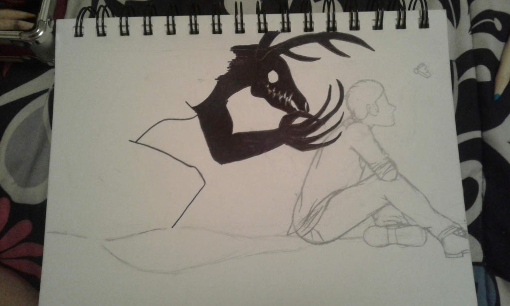 Sketchbook Sketch Page #2 (Sketchbook Pages #5) by Moonfirewolf1