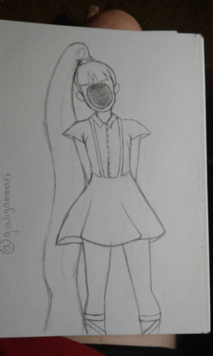 Sketchbook Sketch Page #3 (Sketchbook Pages #7) by Moonfirewolf1