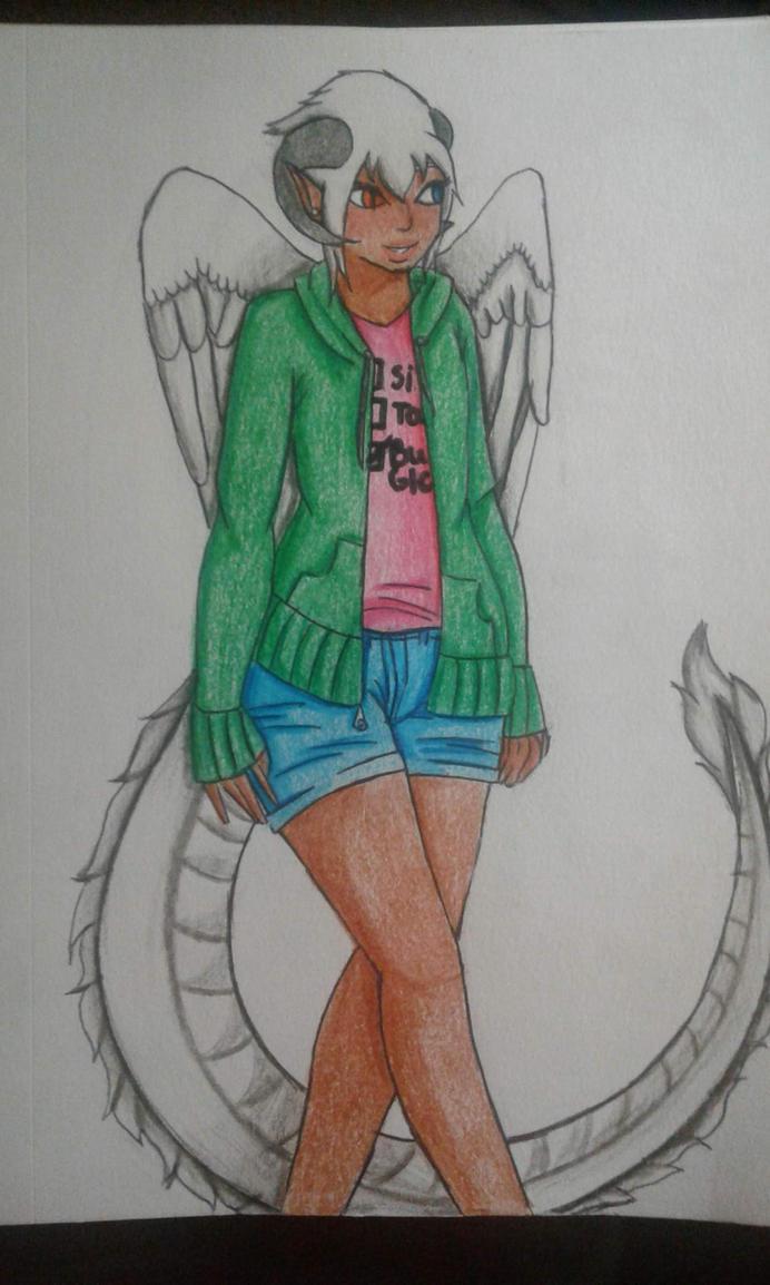 Lux:Sketchbook Sketch Page #4 (Sketchbook Page #9) by Moonfirewolf1
