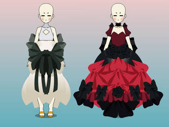 Kisekae dress exports by mildlyoffended