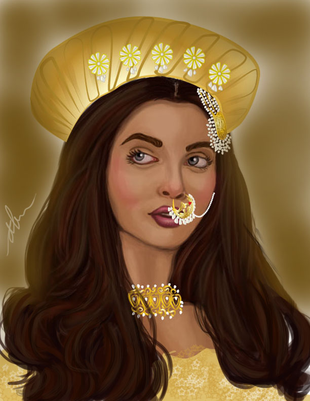 Bajirao Mastani Paintings