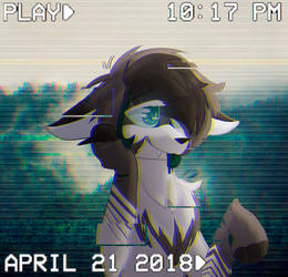 Glitch (style experiment) by xBlackFluff