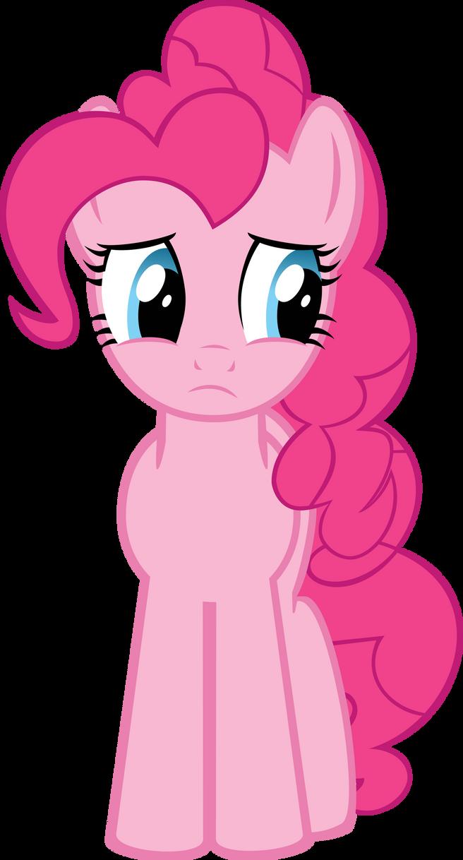 Pinkie Pie Worried by Xigger