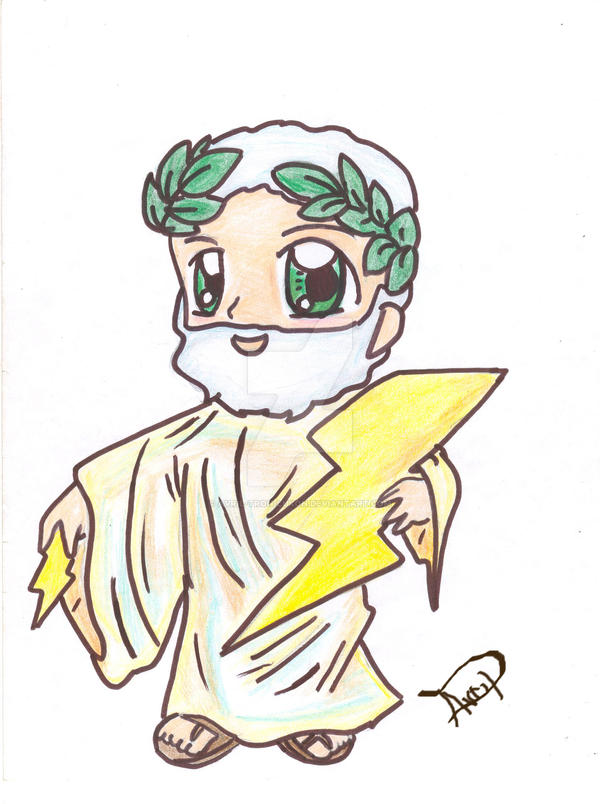 Zeus ( Greek Mythology) by Avril-TRON-LuKon on DeviantArt