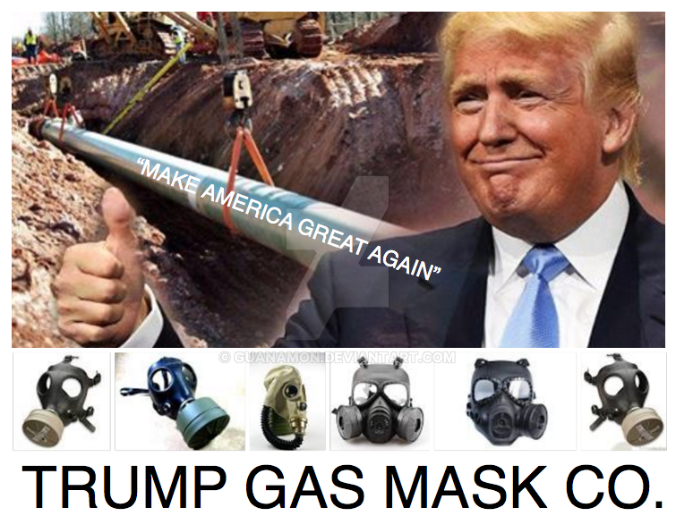 Trump gasmask co. no.3 by guanamon