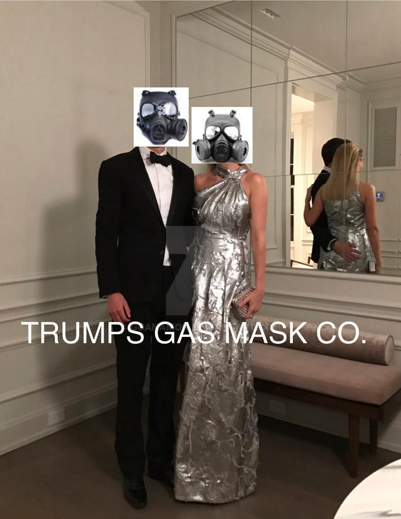 Trump gasmask co. no.6 by guanamon