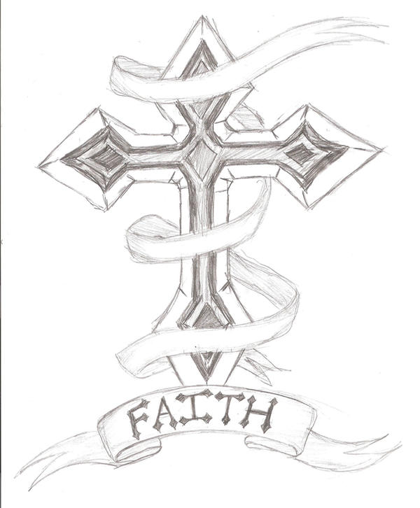 Tattoos Designs Sketches Cross Cross Tattoo Design by