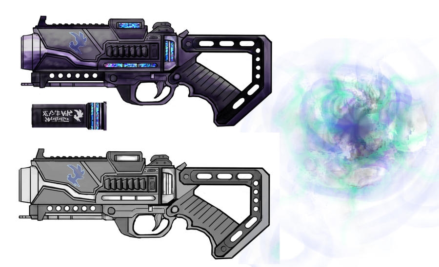 sr2 gun black hole - photo #10