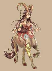Centaur Loranae by AstralDallarth