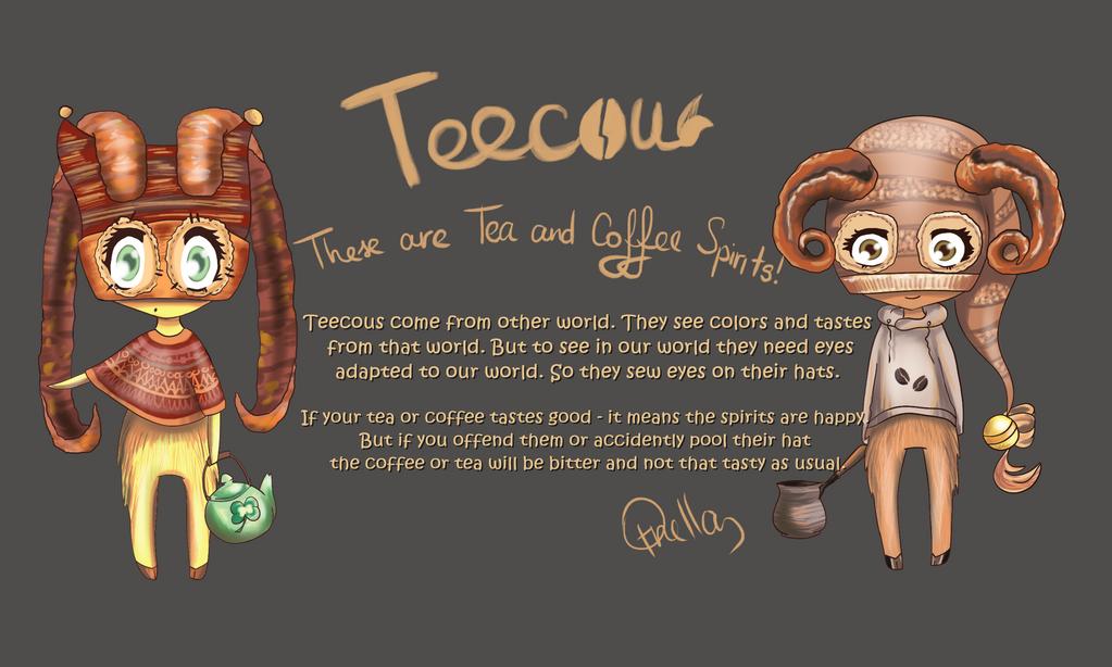 New Species TEECOUs ! ^^ by OrnellaArts
