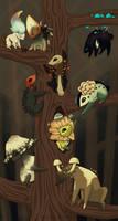Baby Fungi Tree