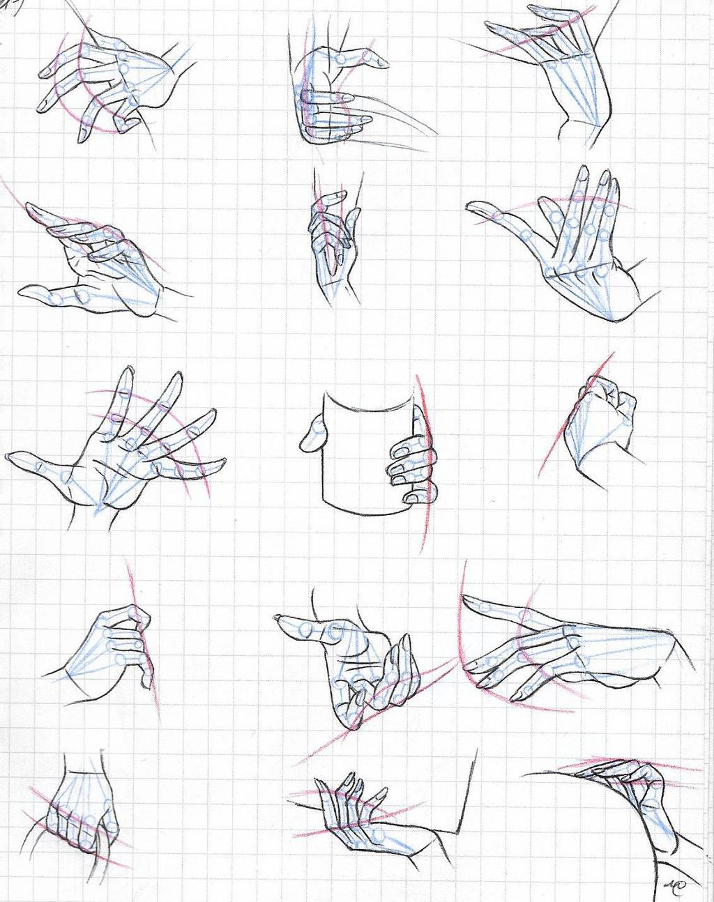 One Piece female hands study (3)