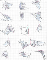 One Piece female hands study (3) by Fluffy-foxlady
