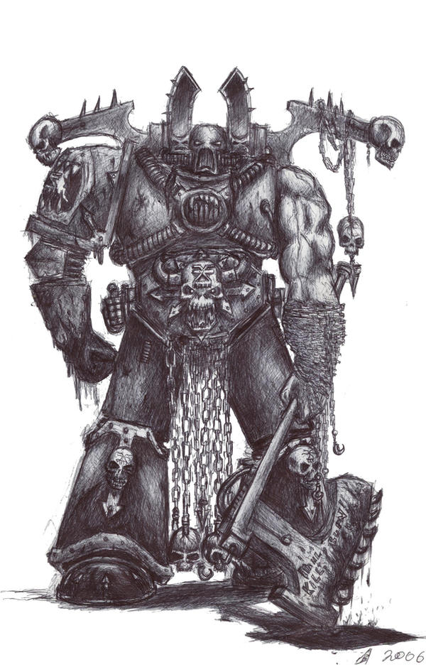 Kharn the Betrayer by Roggi-Roggi