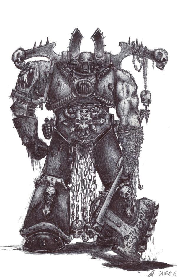 Kharn the Betrayer by Roggi-Roggi