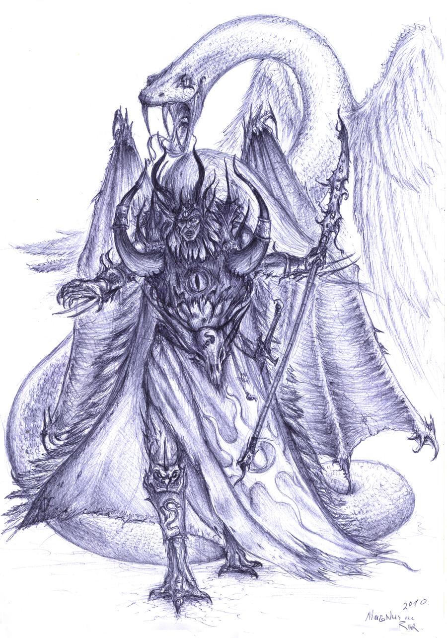 Magnus the Red by Roggi-Roggi