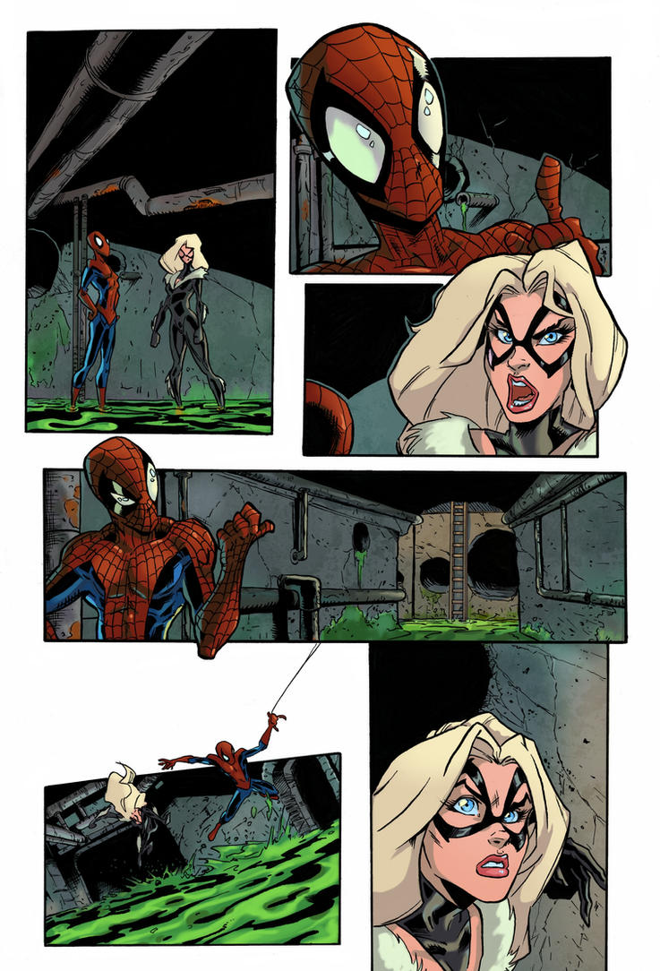 Spider-Man Color Practice by Ronron84