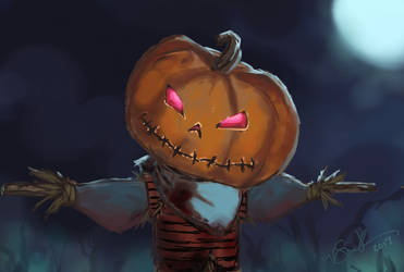 Great Pumpkin by Ronron84