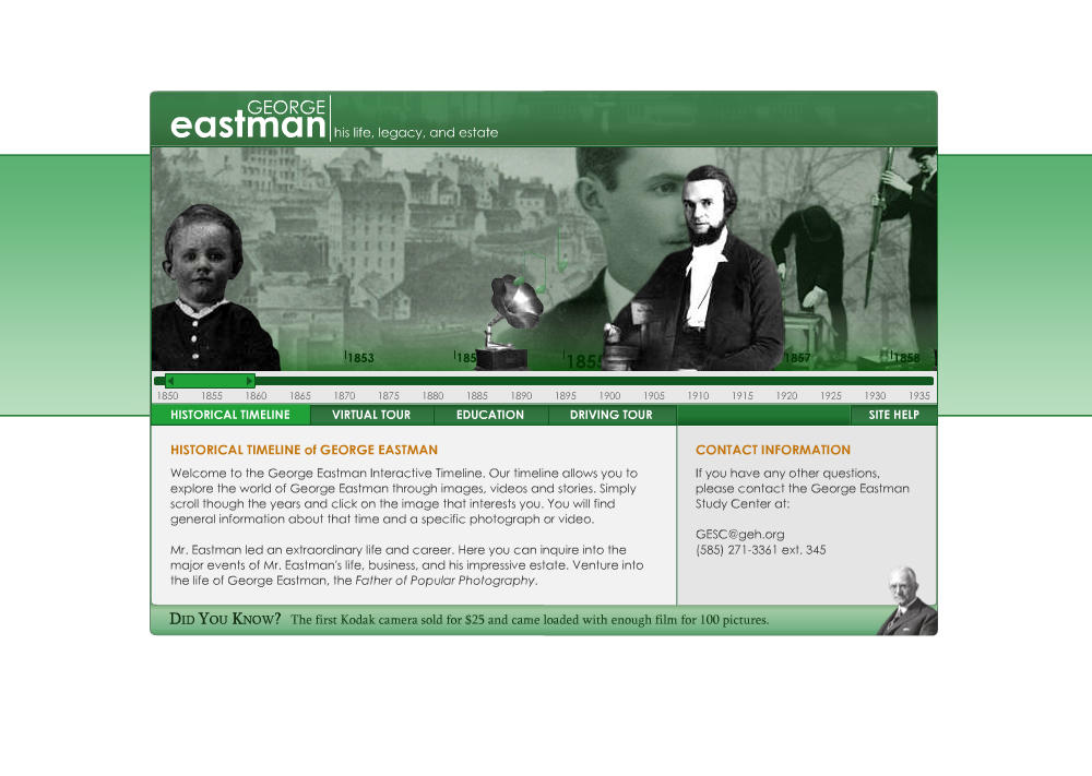 George Eastman Timeline by z32power