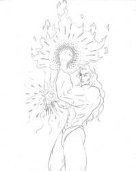 Gill Second Idea Sketch by SecretBoss