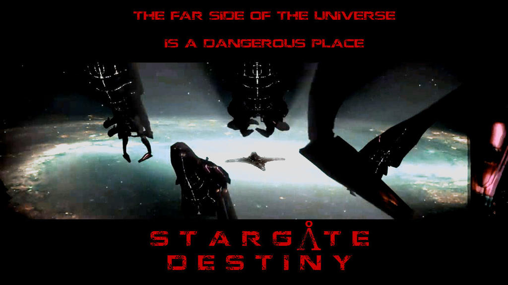 Stargate Destiny - Dangerous Space Poster by Avenuewriter