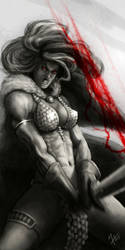Red Sonja by Howietzer