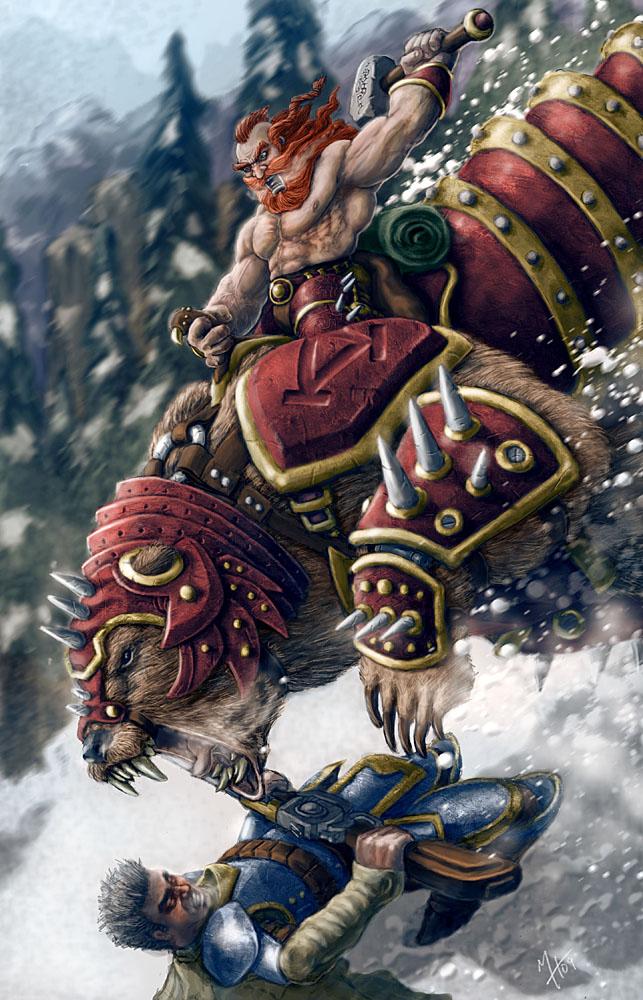 Dwarven Cavalry