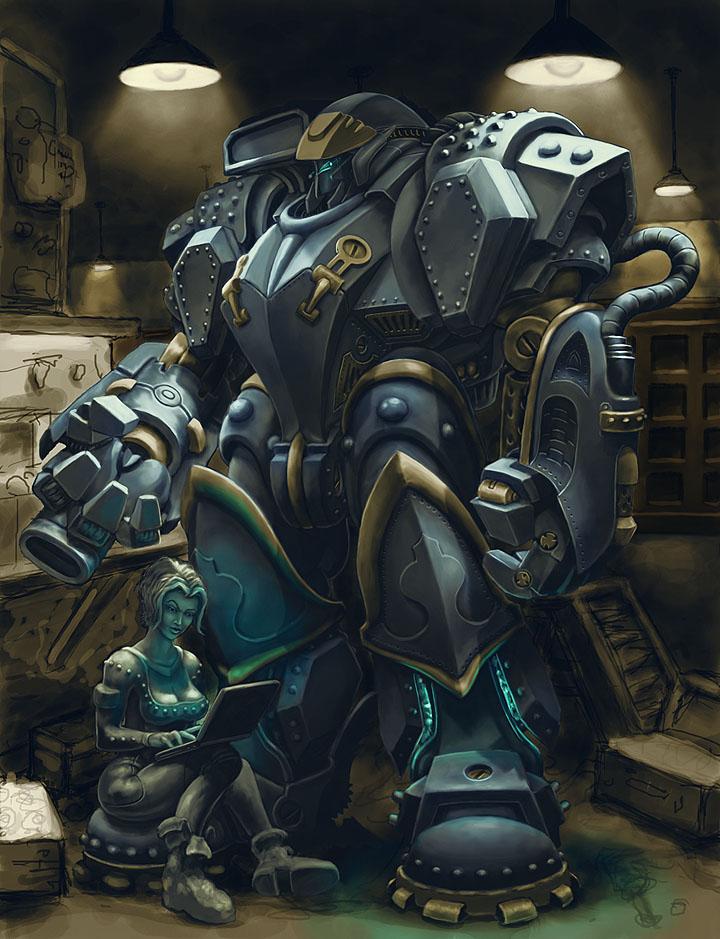 Battle Suit color01 by Howietzer on DeviantArt