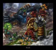 WAR by Howietzer