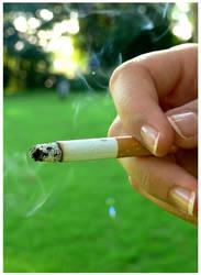 Cigarette? by MiaEatsChocolate