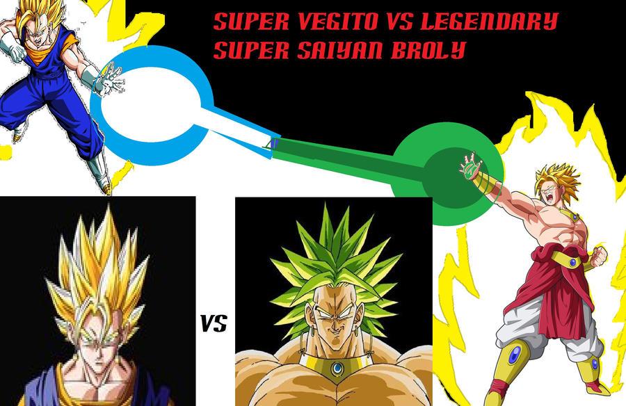 DragonBall Z - Vegito vs Broly by SSj10Gogeto on DeviantArt