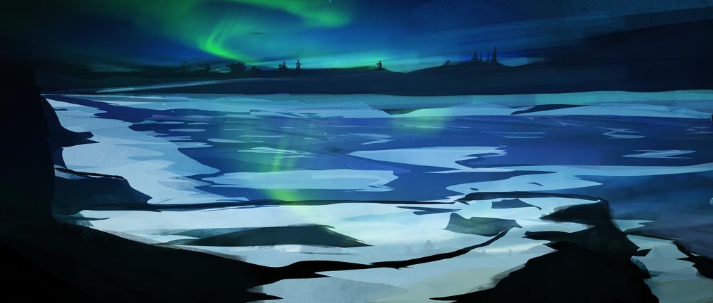 Frozen Aurora by MauricioRomano
