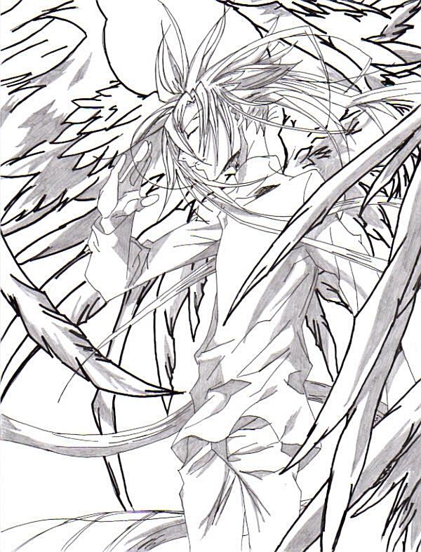 Krad by snipersangel on deviantart for Dark angel coloring pages