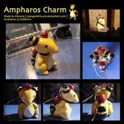 Ampharos Charm by TasogareKitsune