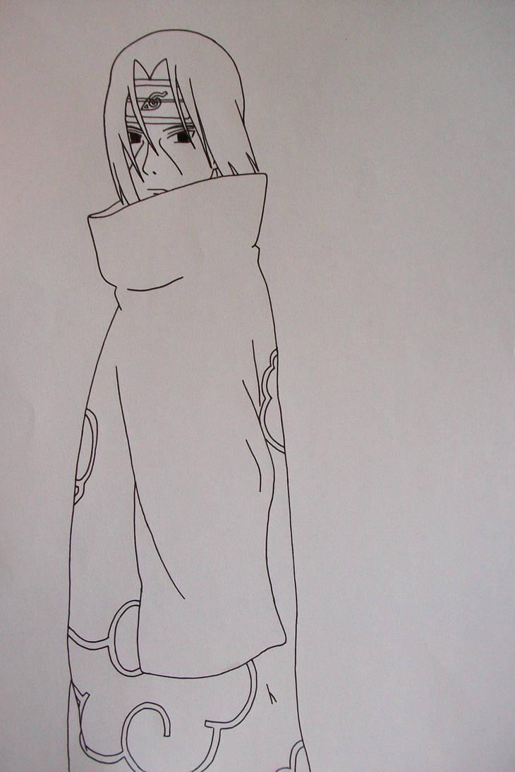Itachi Uchiha Zeichnen
